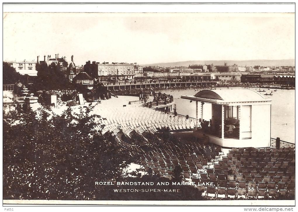 UNITED KINGDOM - Weston Super Mare : Rozel Bandstand And Marine Lane - Weston-Super-Mare