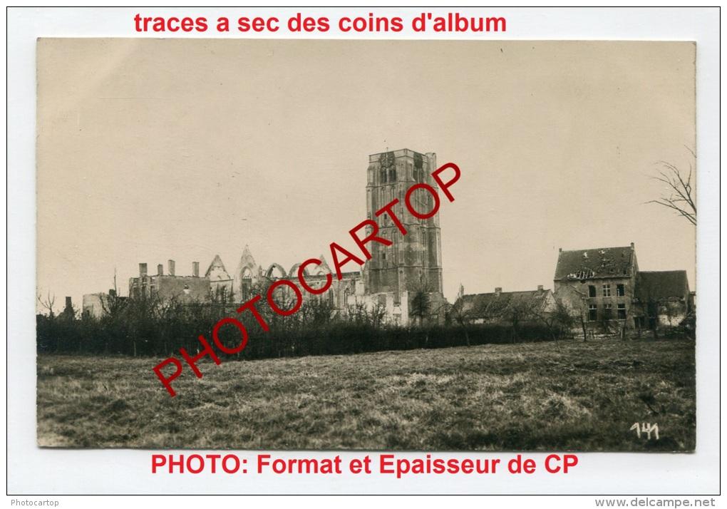 EESSEN-Esen-Eglise-Photo Allemande-Guerre 14-18-1WK-BELGIQUE-BELGIEN-Flandern- - Diksmuide