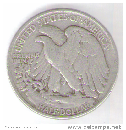STATI UNITI HALF DOLLAR 1944 AG - Emissioni Federali