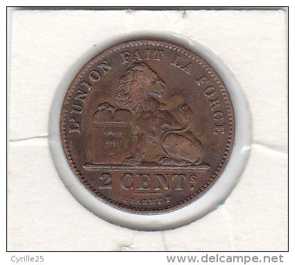 2 CENTIMES Cuivre Albert I 1912 FR - 1909-1934: Albert I