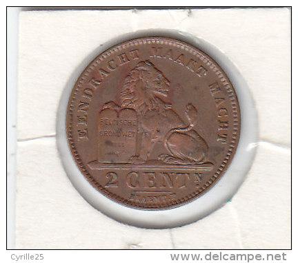 2 CENTIMES Cuivre Albert I 1919 FL - 02. 2 Centimes
