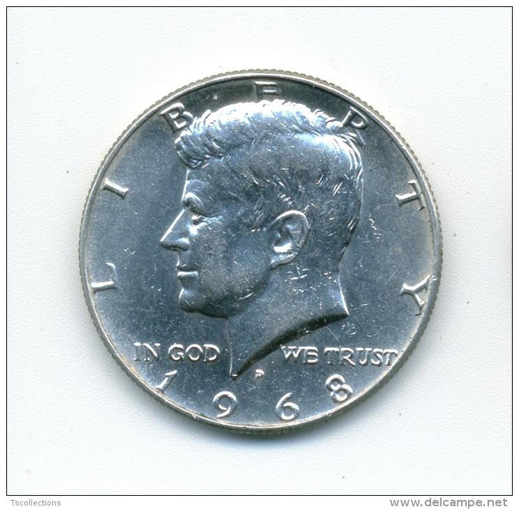 USA Half Dollar 1968 - Federal Issues