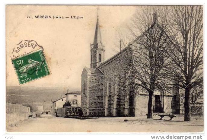 SEREZIN - L' Eglise  (61684) - Autres Communes