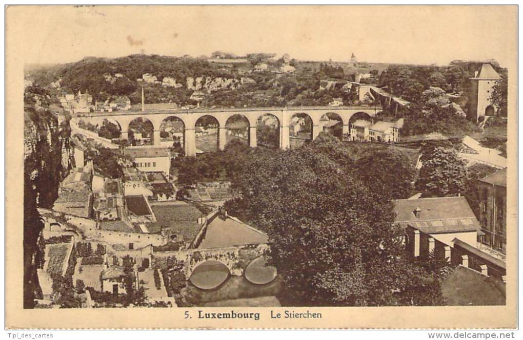 Luxembourg - Le Stierchen - Luxembourg - Ville