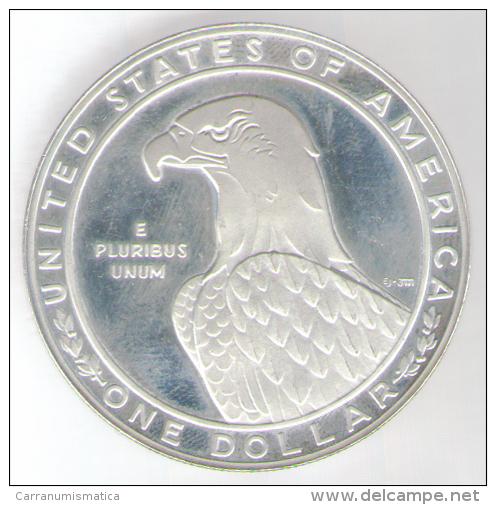 STATI UNITI 1 DOLLAR 1983 AG LOS ANGELES XXIII OLYMPIAD - Emissioni Federali