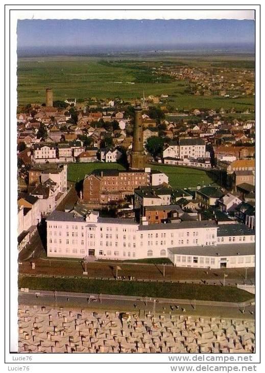 """NORDSEEBAD   BORKUM - Blick Auf Haus  """" EUROPA """"  Und Leuchtturm  - N°  2749 / 63 - Borkum"""