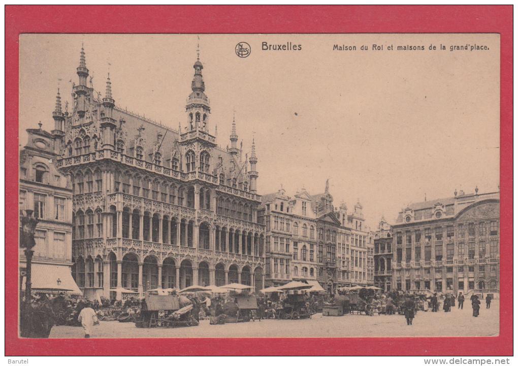 BRUXELLES [Bruxelles ~ Belgique] -->  Maison Du Roi Et Maisons De La Grand'place - Monumenti, Edifici