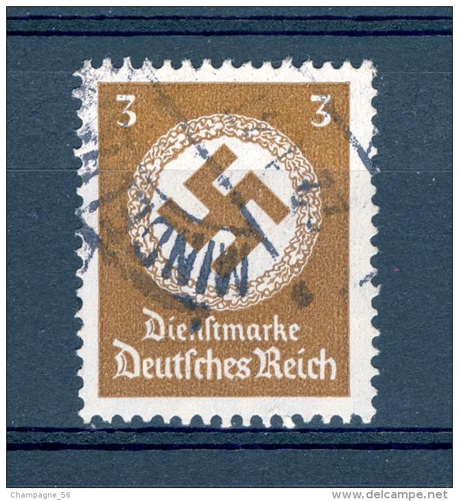 ALLEMAGNE SERVICE  REICH  ANNÉE 1934   N°  93  OBLI - Service