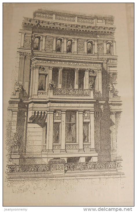 La Semaine Des Constructeurs. N°6.  6  Août 1887.Constructions Nouvelles à New-York. Le Nouveau Port De Dieppe. - Livres, BD, Revues