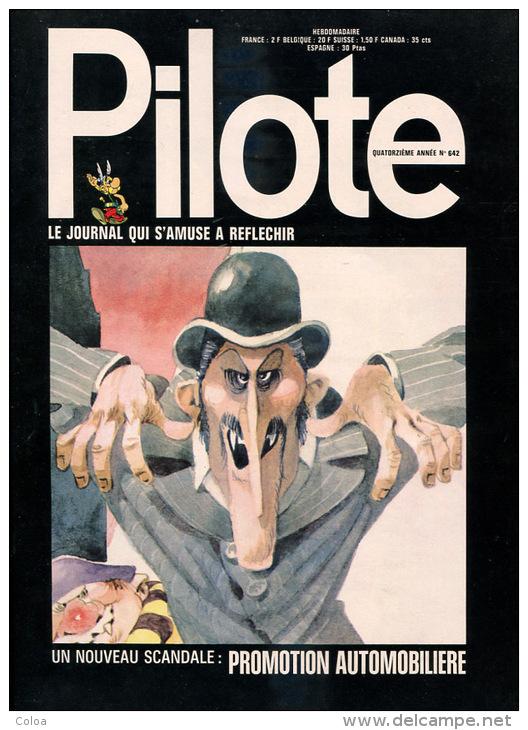 PILOTE N° 642 24 Février 1972 - Pilote