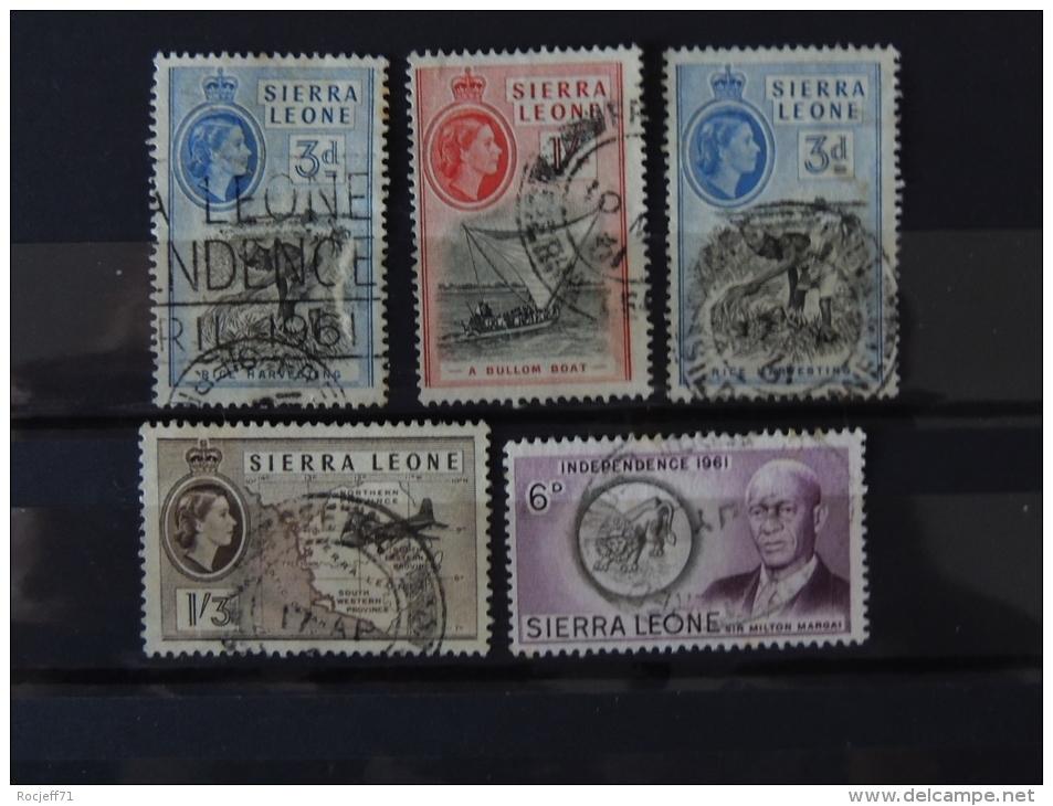 Sierra Leone  - See The Scans - Sierra Leone (...-1960)