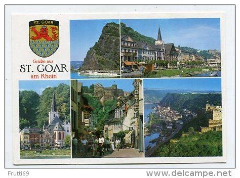 GERMANY - AK 175421 Grüße Aus St. Goar Am Rhein - St. Goar