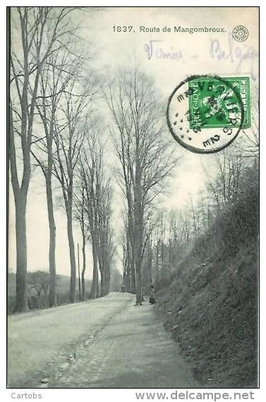 Belgique  Route De MANGOMBROUX - Verviers