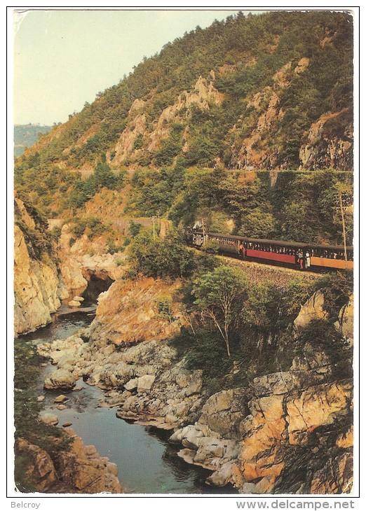 Dépt 07 - SAINT-BARTHÉLEMY-LE-PLAIN - Train à Vapeur (Gorges Du Doux) - Ligne Tournon-Lamastre - France
