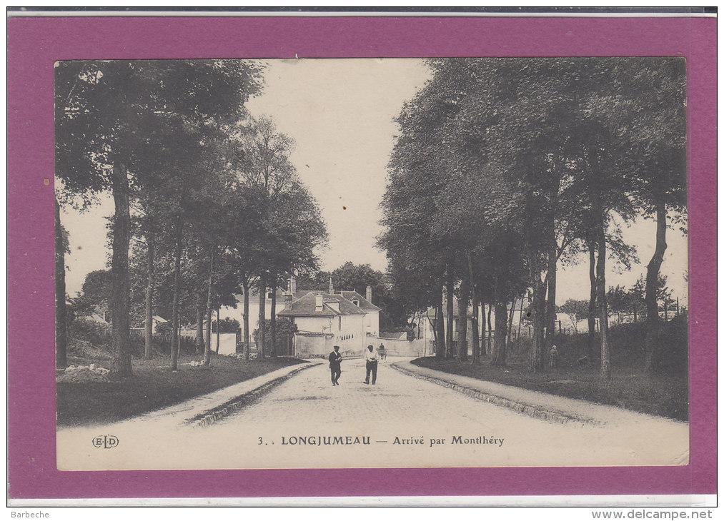 91.- LONGJUMEAU .- Arrivée Par Montléry - Longjumeau