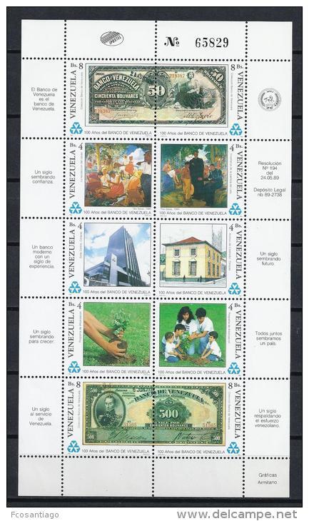 VENEZUELA 1989 - Yvert #1449/58 - MNH ** - Venezuela
