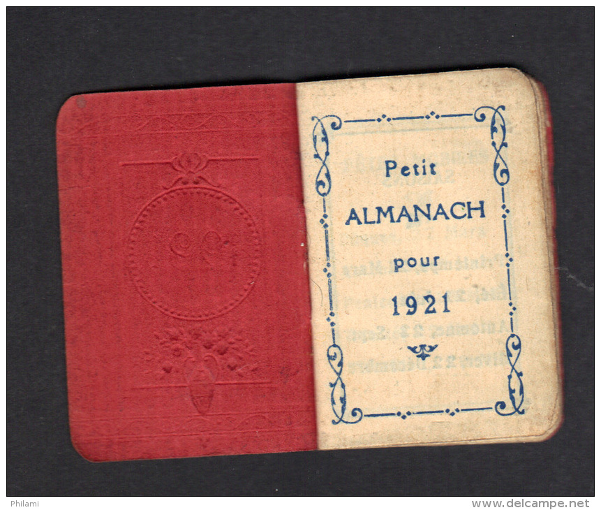 ALMANACH 1921, (mini). (3F109) - Calendriers