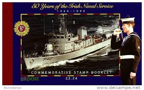 IRELAND/EIRE/IRLAND - 1996 IRISH NAVAL SERVICE PRESTIGE BOOKLET FINE USED - Libretti