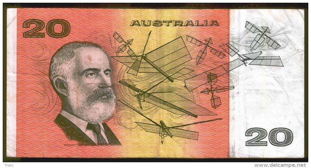 BANCONOTA AUSTRALIANA DA 20 DOLLARI - 1966-72 Reserve Bank Of Australia
