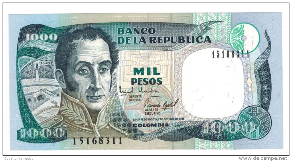 Colombia , 1000 Pesos 1995, Unc. - Colombia