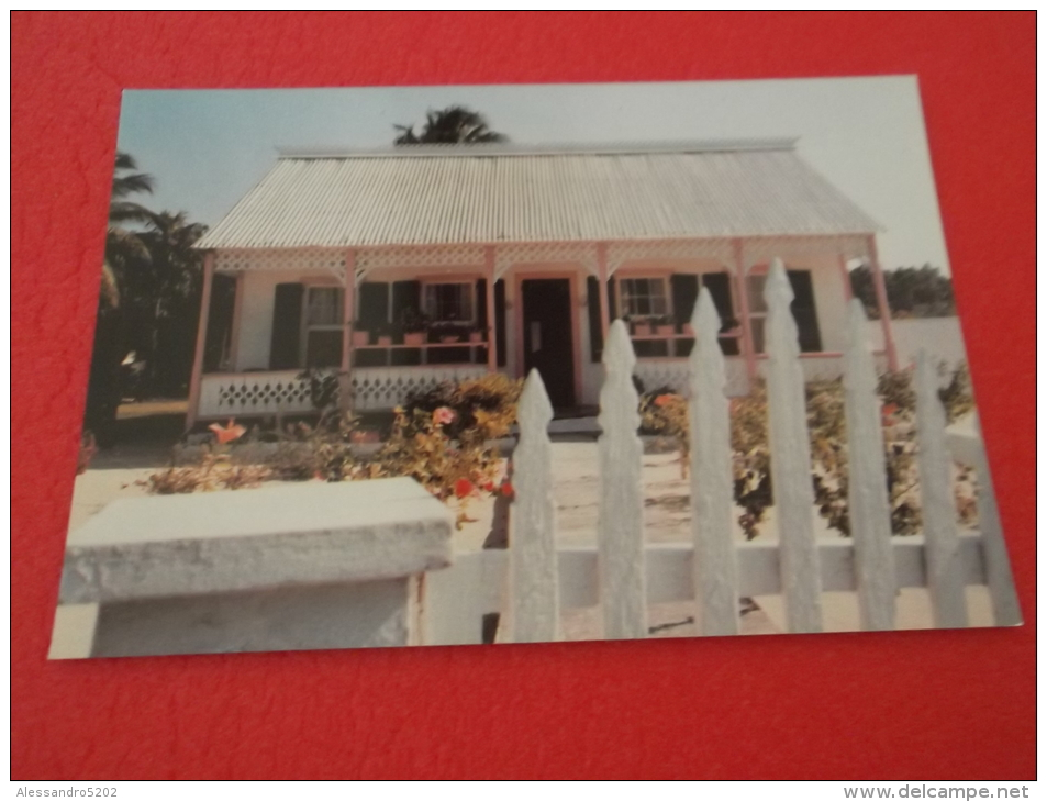 B.W.I. Grand Cayman Red West Bay The Pink House - Kaimaninseln