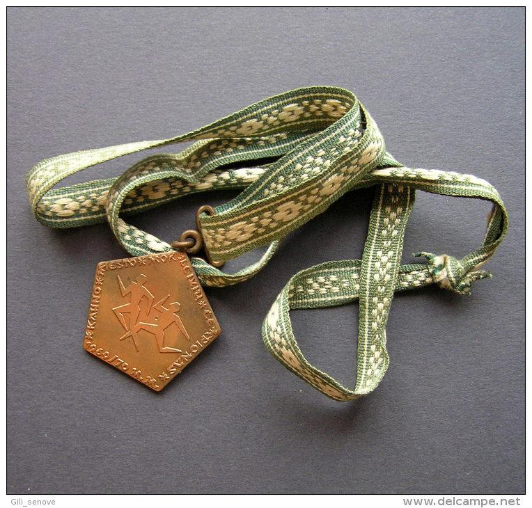 1969 KAUNAS YOUTH CHAMPION ATHLETICS MEDAL / LITHUANIA - Athletics