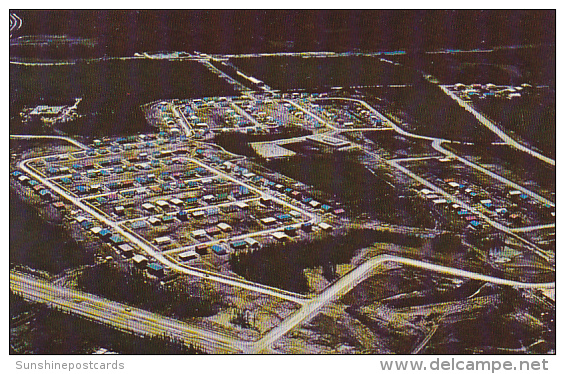 Canada Aerial View Thompson Manitoba - Manitoba