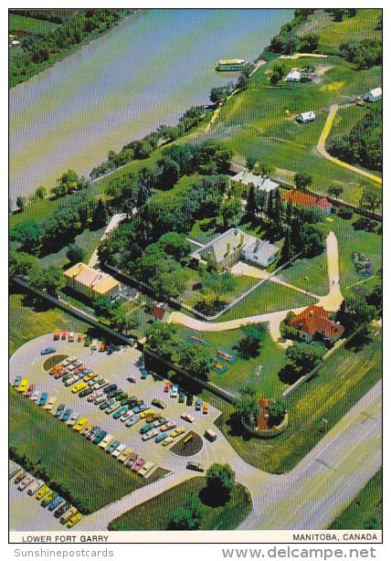 Canada Aerial View Lower Fort Garry Manitoba - Manitoba