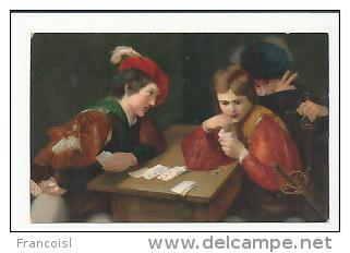 Deux Jeunes Joueurs De Cartes. Tricheur. Caravaggio - Cartes à Jouer