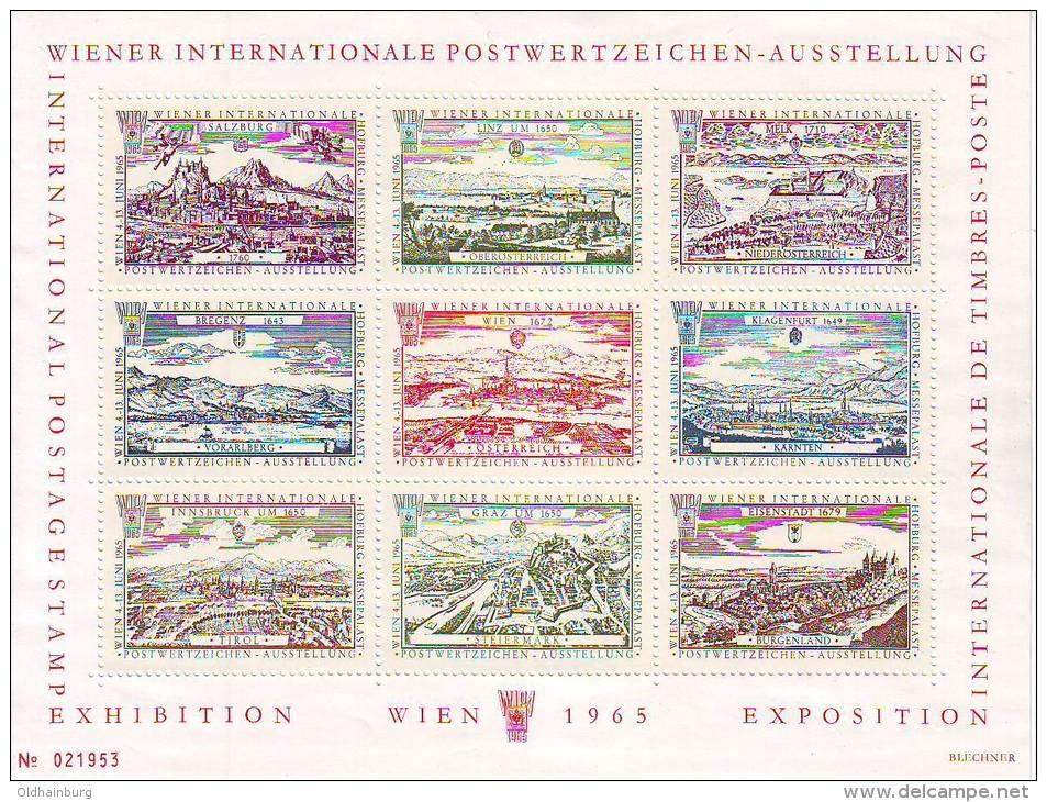1160l: Austria Different Prints, Small Collection - 1945-.... 2. Republik