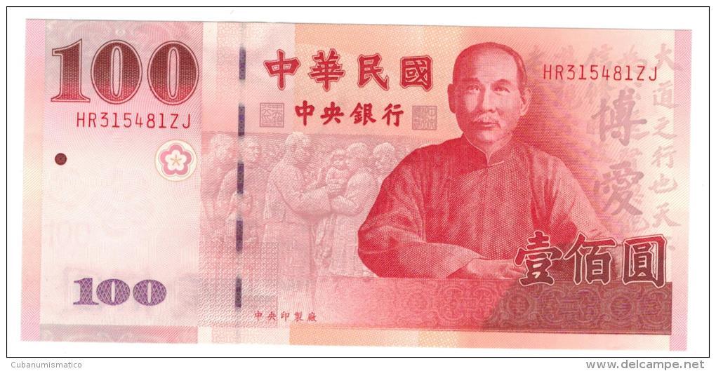 Taiwan, 100 Yuan , UNC. - Taiwan