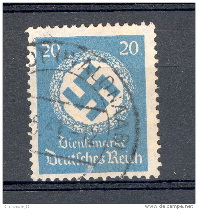 ALLEMAGNE SERVICE  REICH  ANNÉE 1934   N°  101  OBLITERE 2 SCANNE - Service