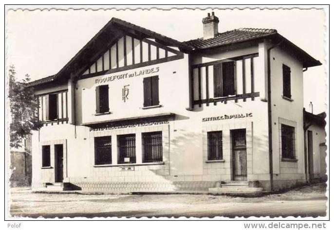 ROQUEFORT - La Poste    (62078) - Roquefort