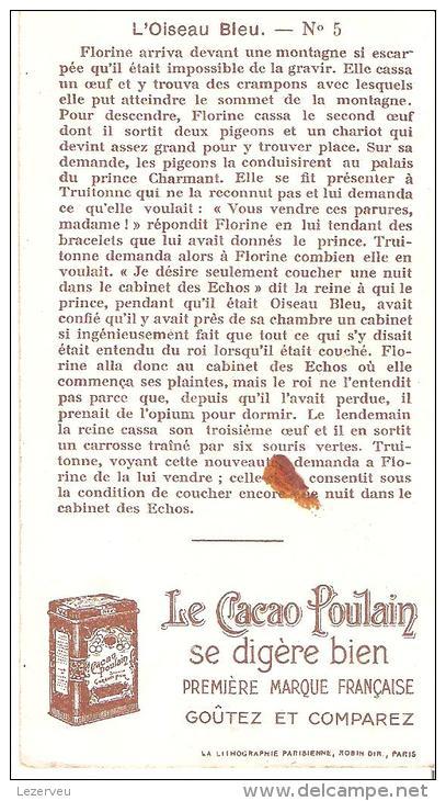 CHOCOLAT POULAIN  CHROMOS L'OISEAU BLEU N° 5 TRUIE - Poulain