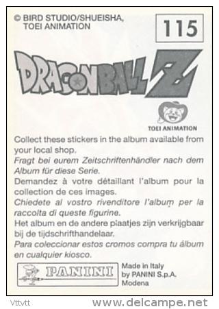 Vignette : DRAGONBALL Z, N° 76, Bird Studio/Shueisha, Toei Animation - Panini