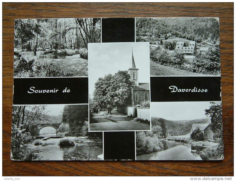 Souvenir De DAVERDISSE ( Hotel Du Moulin ) Anno 1960 ( Zie Foto Voor Details ) !! - Daverdisse