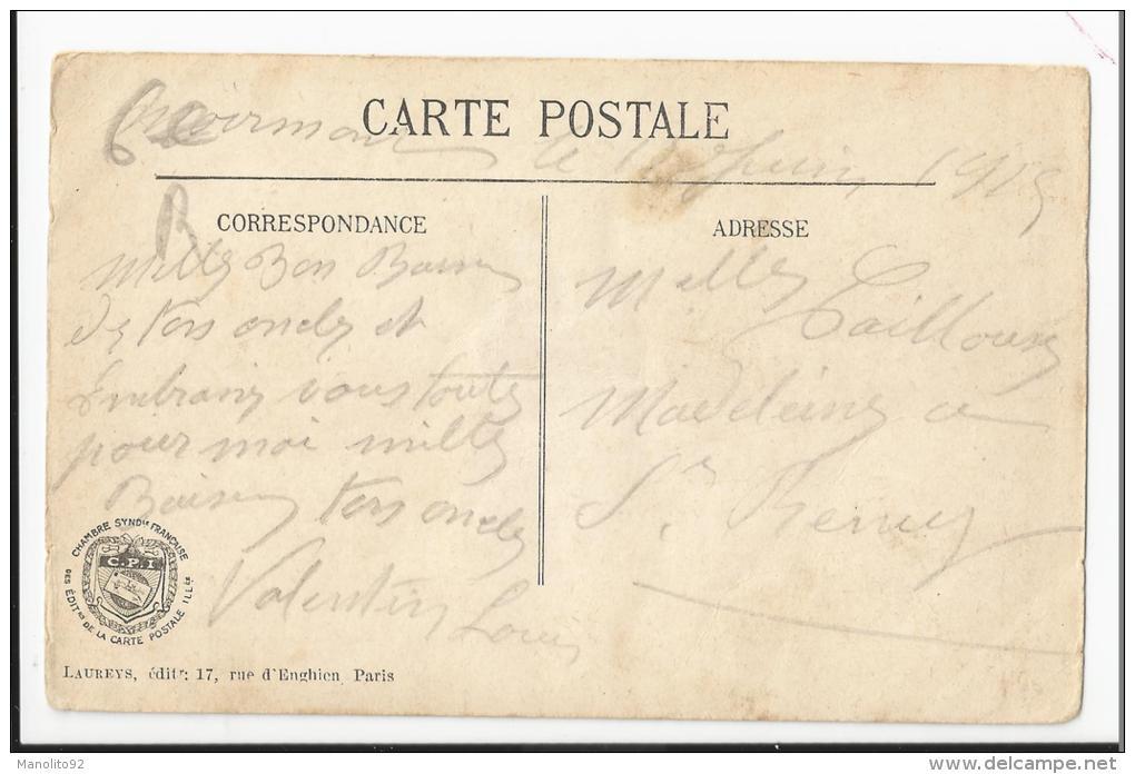 CPA Militaria : Officier Observant Le Tir De Nos Pièces - Guerre 1914-18