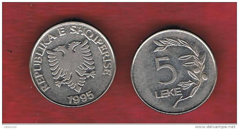 ALBANIA   5 Lek   1995  KM75 - Albania