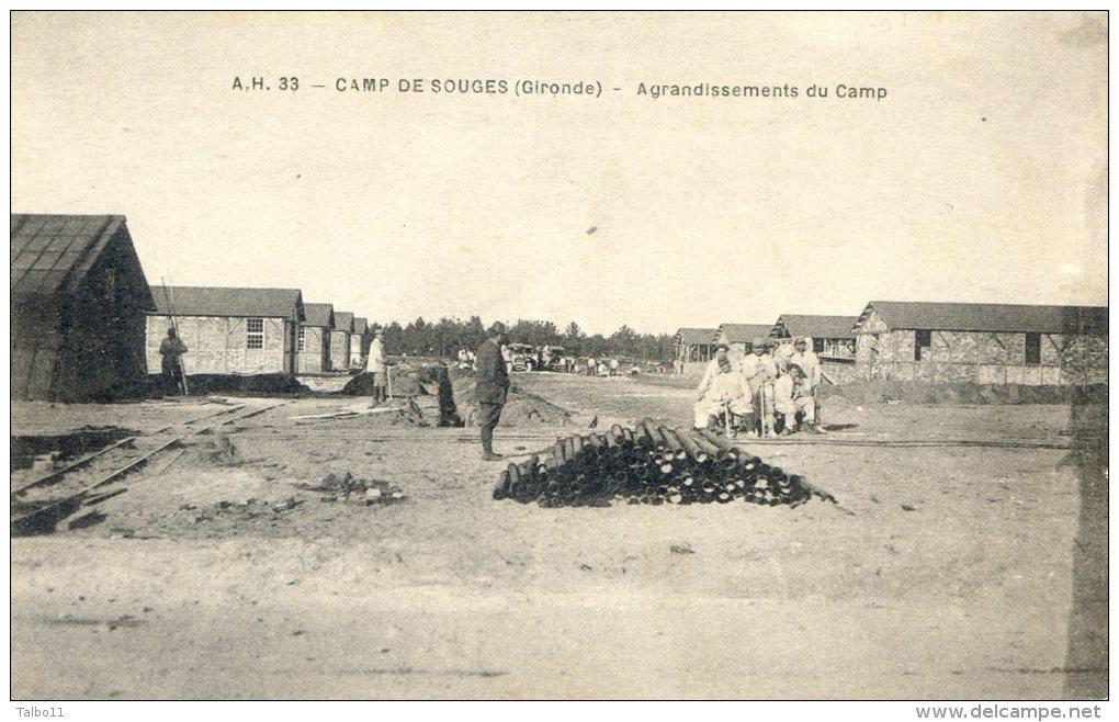 Camp De Souges - Agrandissement Du Camp - France
