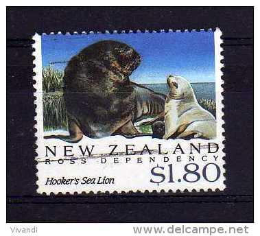 New Zealand - 1992 - $1.80 Antarctic Seals - Used - Oblitérés