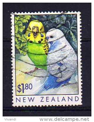 New Zealand - 1999 - $1.80 Popular Pets/Budgerigars - Used - Nouvelle-Zélande