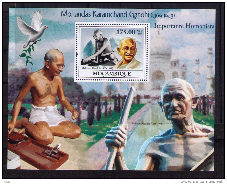 MOZAMBIQUE  MAHATMA GANDHI - Mahatma Gandhi
