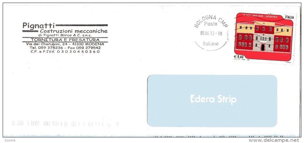 2008 STORIA POSTALE REPUBBLICA EX LICEO CARLO COMBI ACAPODISTRIA--R634 - 6. 1946-.. Repubblica