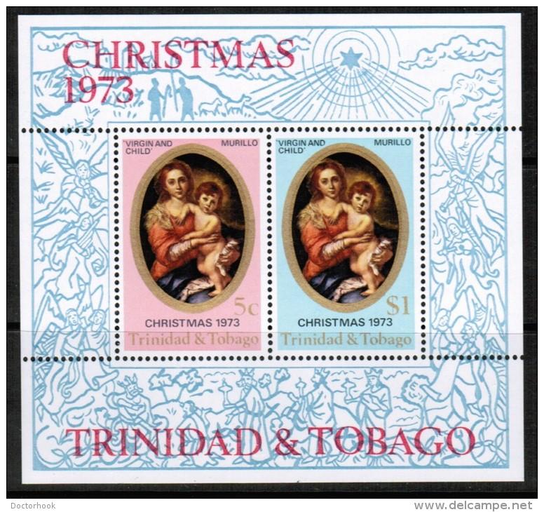 TRINIDAD & TOBAGO   Scott # 241-2a**  VF MINT NH SOUVENIR SHEET - Trinidad & Tobago (1962-...)