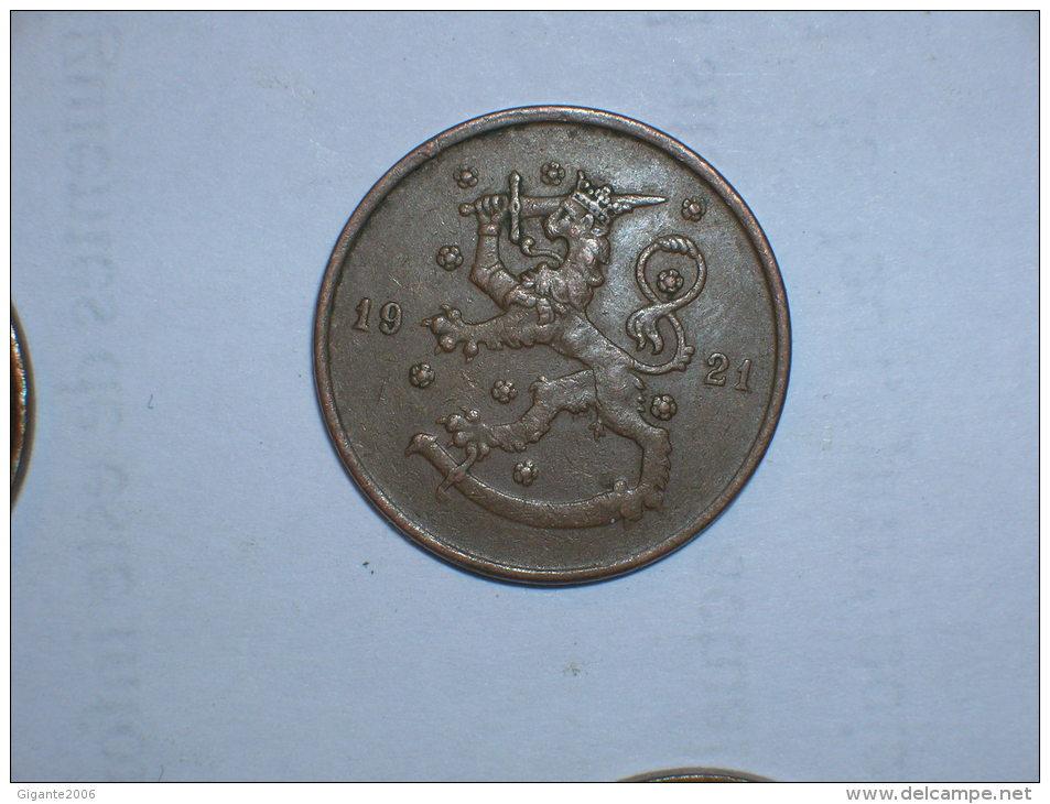 Finlandia 10 Pennia 1921  (5142) - Finlandia