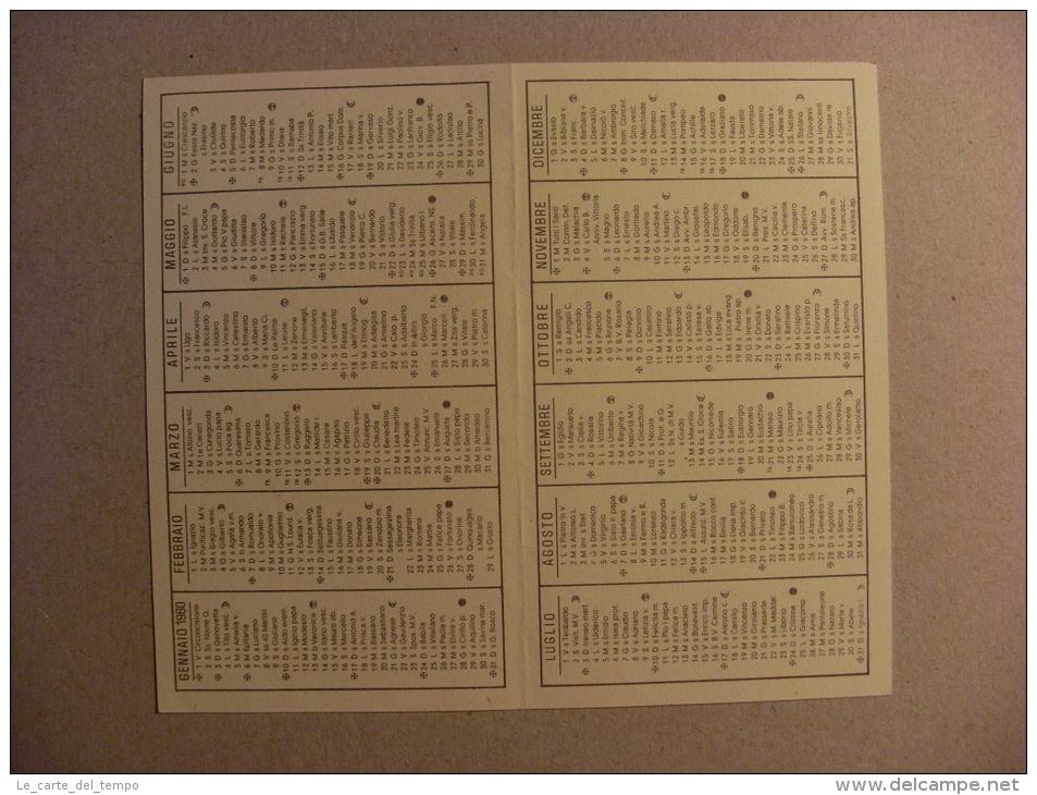 """Calendario Santino """"Piccoli Missionari Sacramentini - Auguri Di Buon Anno 1960"""" (Madonna Con Bambino) - Calendriers"""