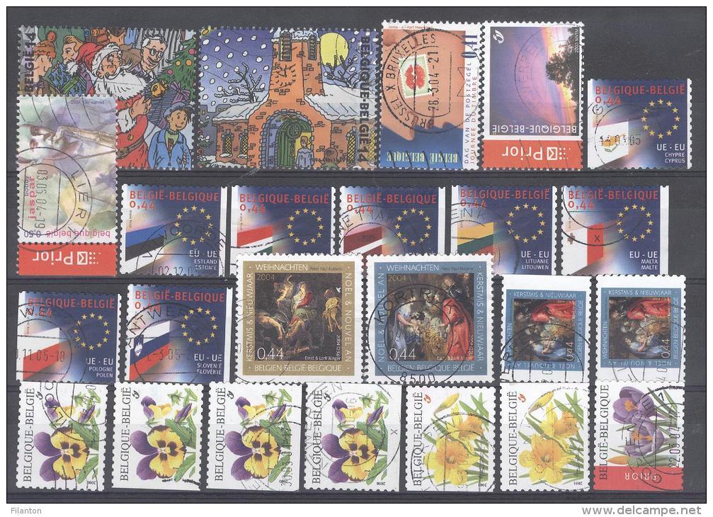 BELGIE - Selectie Nr 1363 - Gestempeld/oblitéré - Colecciones