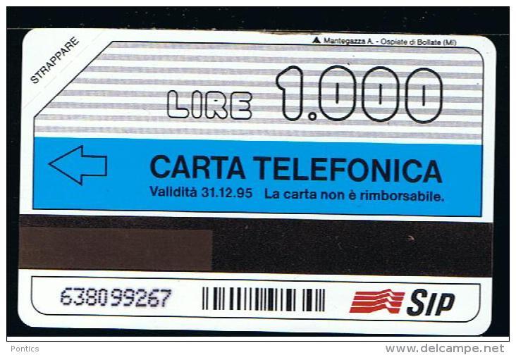 07 - ITALIA - TESSERA TELEFONICA PUBBLICA PUBBLICITARIA NO. 167  NUOVA - Pubbliche Speciali O Commemorative