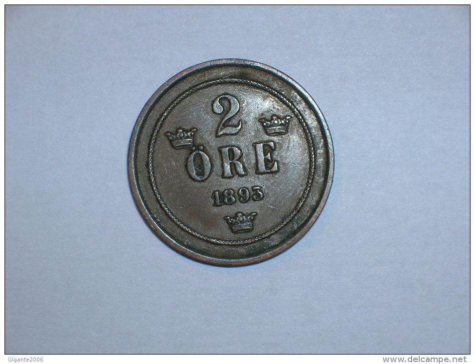 Suecia 2 Ore 1893 (5181) - Suecia