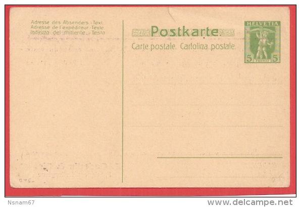 B46 - Entier Postal 5 Cte Franco  - PRIVE - Verso E. OEDERLIN - - Interi Postali